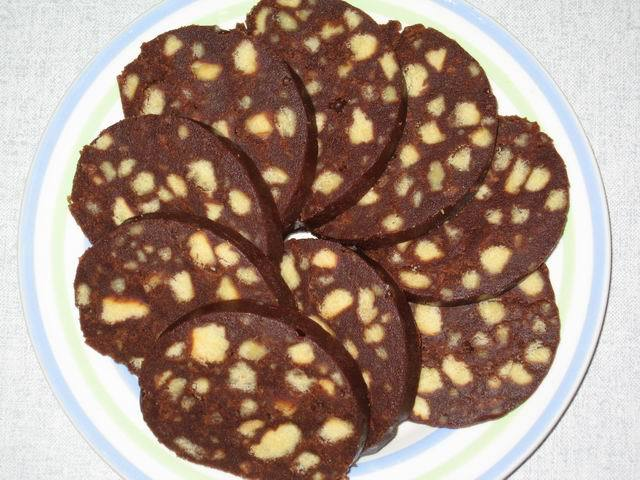 колбаски шоколадные рецепт