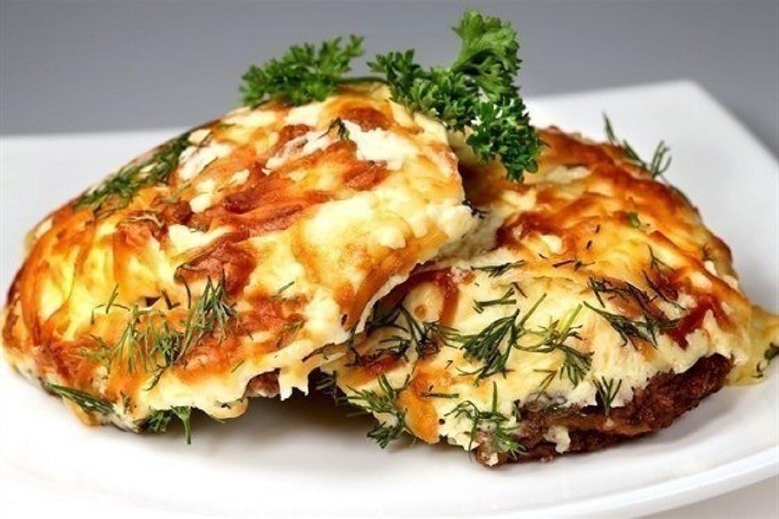 Куриная грудка с грибами и сыром в духовке рецепт пошагово в