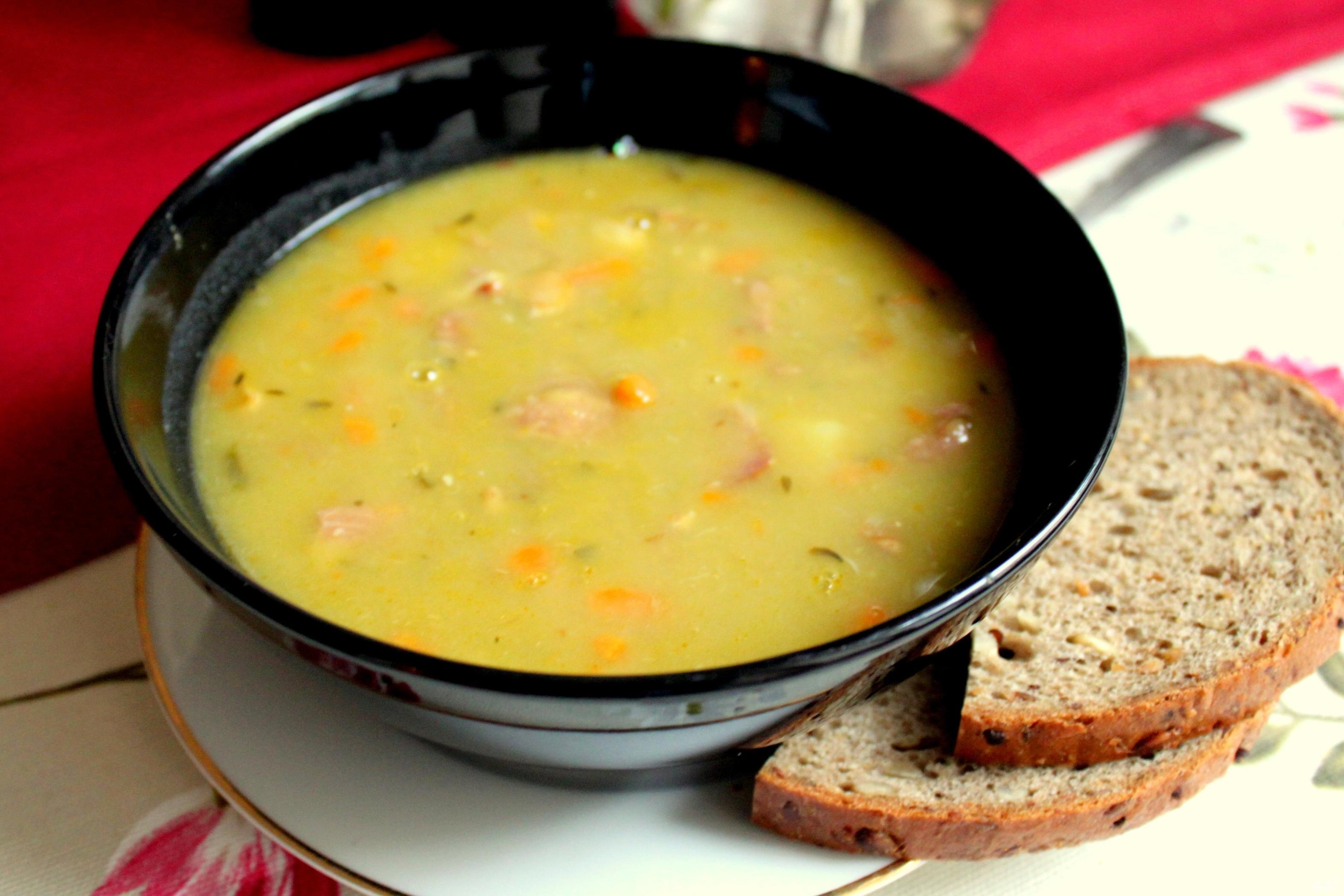 гороховый суп рецепт с мясом классический с фото пошагово