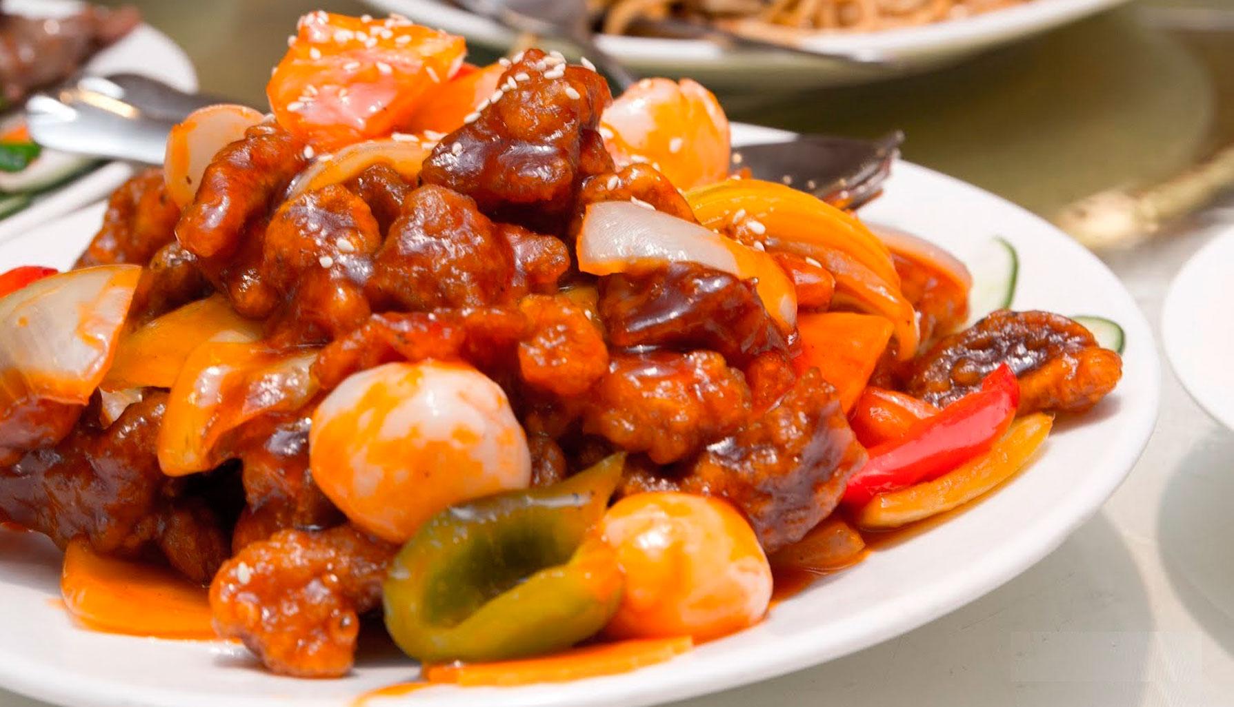 Свинина в азиатском стиле пошаговый рецепт