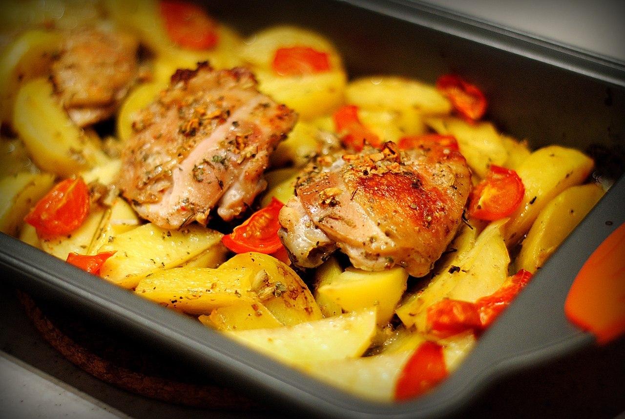Блюда с окорочками рецепты