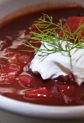 Вкусный борщ со свининой рецепт пошаговый с фото